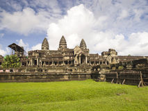 East entrance of Angkor Wat Royalty Free Stock Photography