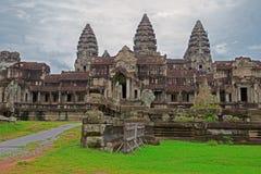 Angkor Wat Eintrag lizenzfreie stockfotos