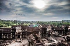 Angkor Wat em Camboja Fotos de Stock