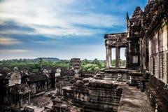 Angkor Wat em Camboja Foto de Stock
