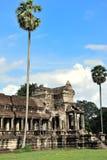 Angkor Wat em Camboja fotos de stock royalty free