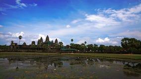 Angkor Wat em Camboja Fotografia de Stock