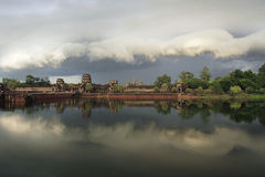 Angkor Wat at Eve moment view,siem Riep,Cambodia Royalty Free Stock Image