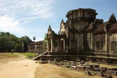 Angkor Wat, externe Wand - Kambodscha Lizenzfreies Stockbild