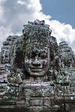 Angkor Wat. Faces of Brahma at Angkor War Stock Photos