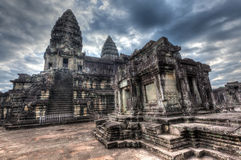 Angkor Wat - famous landmark of Cambodia Stock Images