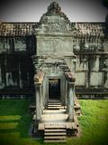 Angkor Wat First level north gate Stock Image