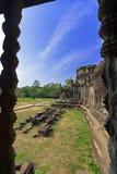 Angkor Wat Gallerie. Στοκ Φωτογραφίες