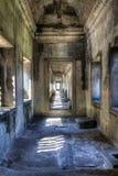 Angkor Wat gallery Stock Image