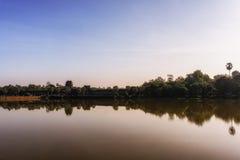 Angkor Wat Gateway Royalty Free Stock Images