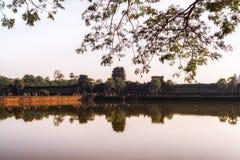 Angkor Wat Gateway Stock Image