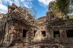 Angkor Wat Gebäude Stockfotos