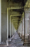 Angkor Wat Hallway Royalty Free Stock Images