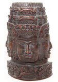 Angkor Wat hand carved statue Stock Images