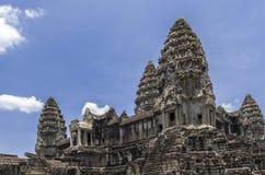 Angkor Wat, het binnen 3de niveau Stock Foto