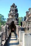 Angkor Wat in het licht van de ochtendzon Stock Afbeelding