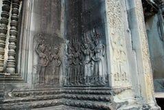 Angkor Wat in het licht van de ochtendzon Stock Foto