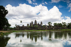 Angkor Wat. Is historical temple of Cambodia Royalty Free Stock Photos
