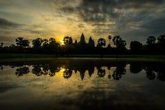 Angkor Wat I Arkivbild