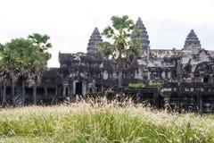 Angkor Wat i den Cambodja världsarvet royaltyfri fotografi