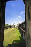 Angkor Wat. An Inside Look. Royalty Free Stock Photography