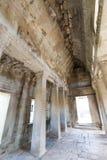 Angkor wat interior Royalty Free Stock Photo