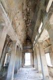 Angkor wat interior Royalty Free Stock Photography