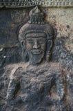 Angkor Wat ist eine UNESCO-Welterbestätte seit 1992 Berühmt für es ` s Bauprozess und schnitzen Wandgemälde Lizenzfreies Stockbild