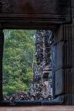 Angkor Wat jest ?wi?tynnym kompleksem w Siem Przeprowadza ?niwa, Kambod?a obraz royalty free
