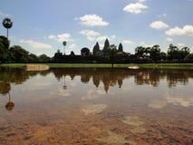 Angkor Wat Kambodża świątynni wizerunki Zdjęcia Royalty Free