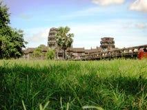 Angkor Wat Kambodża świątynni wizerunki Fotografia Stock