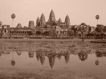 Angkor Wat, Kambodża obrazy royalty free