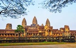 Angkor Wat Kambodża Antyczne świątynie Obraz Royalty Free