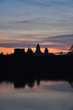 Angkor Wat, Kambodża Wschód słońca Obrazy Royalty Free