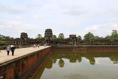 Angkor Wat, Kambodża Zdjęcie Stock