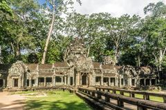 Angkor Wat, Kambodja stock foto