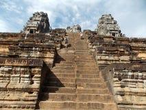 Angkor Wat, Kambodja stock fotografie