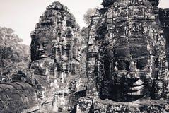 Angkor Wat in Kambodja Stock Foto