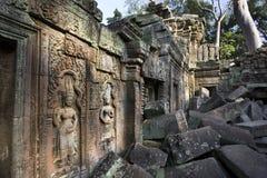 Angkor Wat - Kambodja stock afbeeldingen