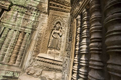 Angkor Wat - Kambodja Royalty-vrije Stock Foto's