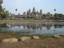 Angkor Wat, Kambodja royalty-vrije stock foto's