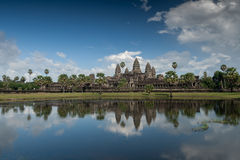 Angkor Wat, Kambodja Royalty-vrije Stock Fotografie