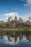 Angkor Wat, Kambodja Stock Afbeelding
