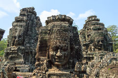 Angkor Wat, Kambodja Stock Foto's