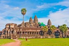 Angkor Wat, Kambodja, Zuidoost-Azië Stock Afbeelding