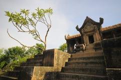 Angkor wat in Kambodscha Stockbild