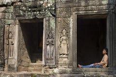Angkor Wat - Kambodscha Stockfotografie