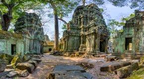 Angkor Wat Kambodscha Alter buddhistischer Tempel Khmer Ta Prohm stockbild