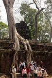 Angkor Wat of Kampuchea Stock Image