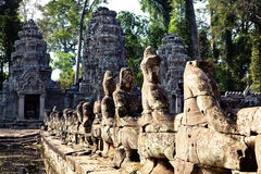 Angkor Wat of Kampuchea Royalty Free Stock Photo